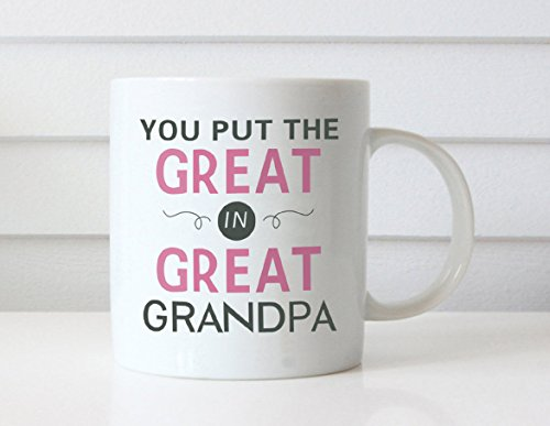 MAUAG Christmas Gifts Grandpa Coffee Mug