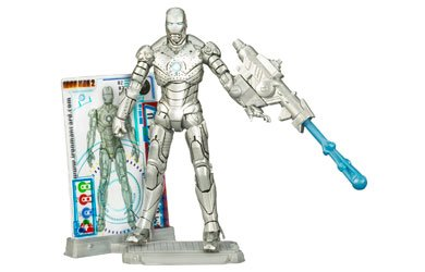 Marvel Iron Man 2 Action Figure #02 Mark II Iron Man 3.75 ()