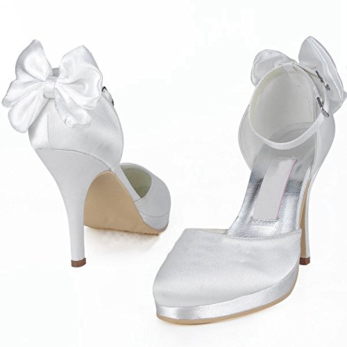 Minitoo 10cm Chaussures De Heel Tendance Mariage Femme White YxPFYvwHqr