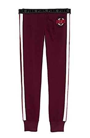 Victoria's Secret PINK Gym Sweat Pants Limited Edition X-Small Burgundy