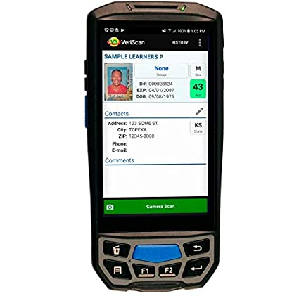 Amazon com : IDWare 9000 Mobile Online ID Driver License Scanner