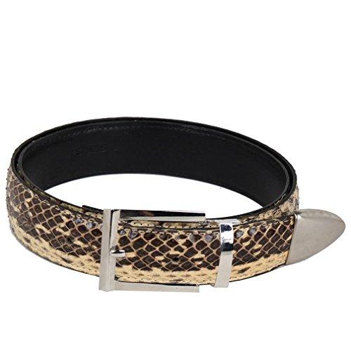 Belt Bone (Python Skin Leather)