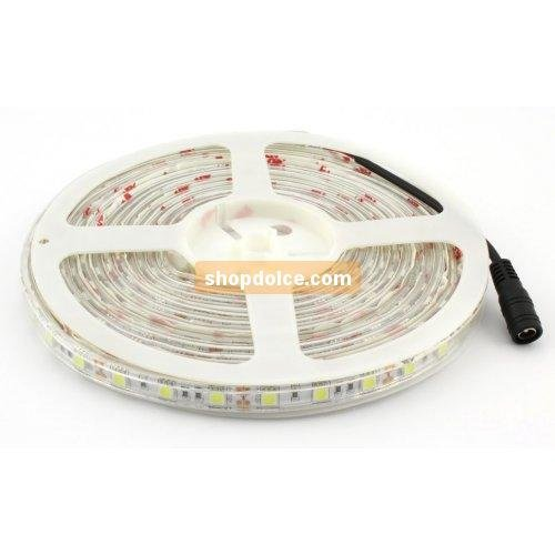 V-TAC tira LED 5050 60 LED/m IP65 12 V Luz Natural Impermeable 5 mt 10306: Amazon.es: Iluminación