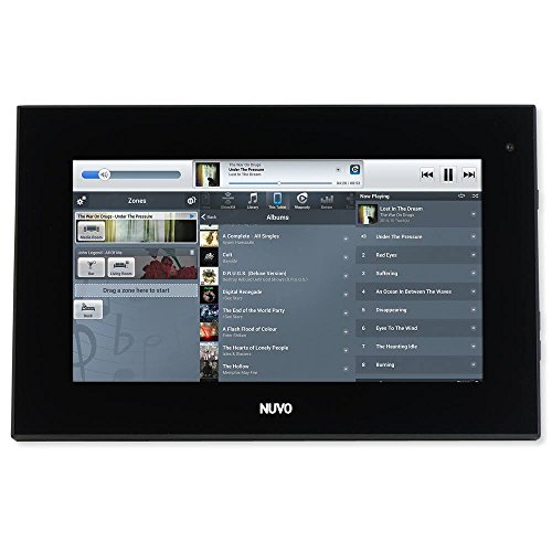 Legrand Nuvo NV-P30 7 in. Android PoE Touch Screen, Black NV-P30-BK by Nuvo (Image #1)