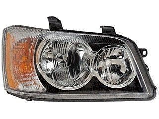 01 02 03 Toyota Highlander Passenger Headlight Headlamp Front Right