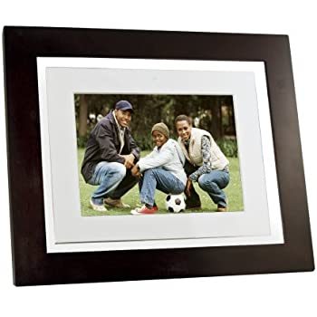 Pandigital Pantouch PAN8000DWPCF1 8-Inch Touchscreen LCD Digital Picture Frame with 1 GB Internal Memory (Espresso Brown)