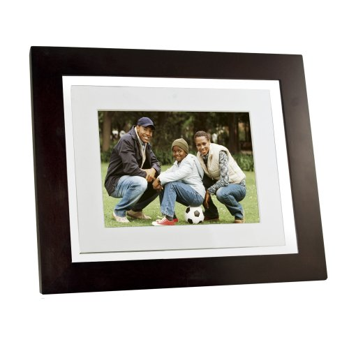 Pandigital Pantouch PAN8000DWPCF1 8-Inch Touchscreen LCD Digital Picture Frame with 1 GB Internal Memory (Espresso Brown) by PanDigital