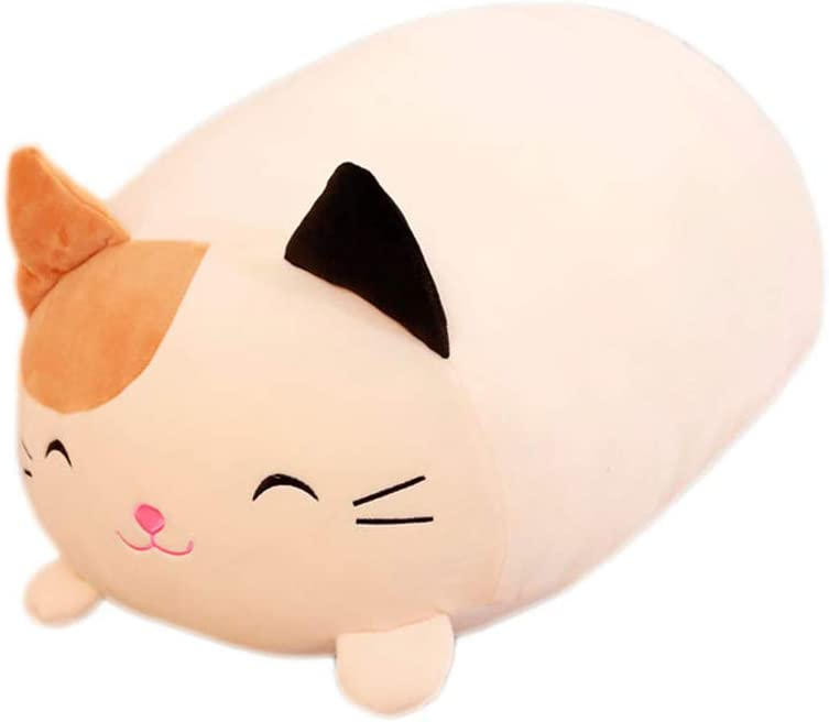 Throw Pillow, 30cm Lying Pig Cats Animal Plush Stuffed Doll Toy Home Sofa Couch Car Decor