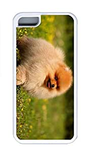 iPhone 5C Case, Personalized Custom White Case for iphone 5C - Fit Dog Cover