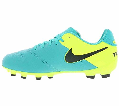 best website 9c8f2 4806f ... Nike Junior Tiempo Legend Vi Fg, Chaussures de Football Amricain Mixte  Enfant Vert (Clear ...