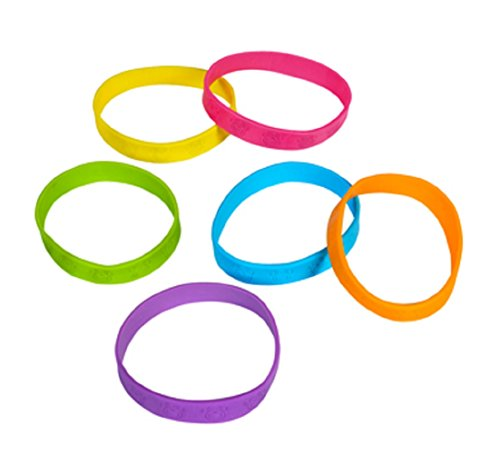 Fun Express Favors Rubber Bracelets