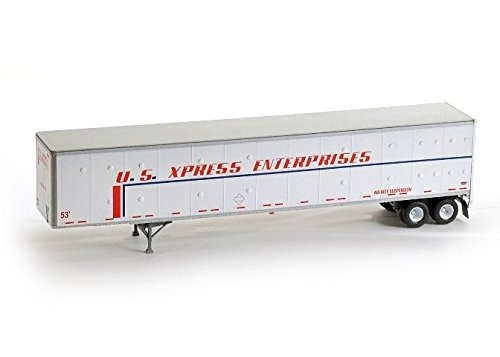 Ho Rtr 53 Duraplate Trailer  Us Xpress  62589