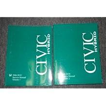 2009 Honda Civic Hybrid Service Shop Repair Workshop Manual Set OEM Factory x