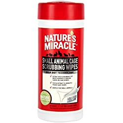 Nature's Miracle 30 Count Small Animal Cage Scrubbing Wipes by Nature's Miracle