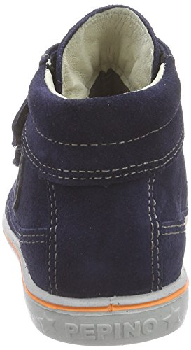 Ricosta Poli - zapatillas deportivas altas de piel para niños Azul (nautic 171)