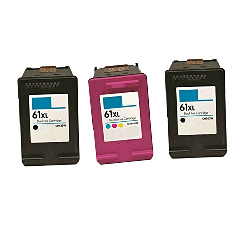 Generic Remanufactured Ink Cartridge Replacement for 2 x For HP CH563WN CH564WN (2Black,Color , 3-Pack )