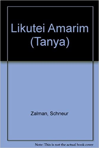 Likutei Amarim (Tanya) - Livros na Amazon Brasil- 9780901927095