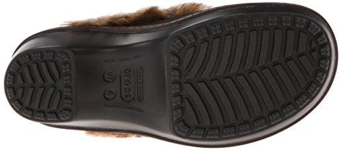 Cobbler Crocs Clog Mahogany Fuzz Black UAASqZza