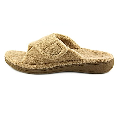 VIONIC Orthaheel Technology Womens Relax Slipper Black