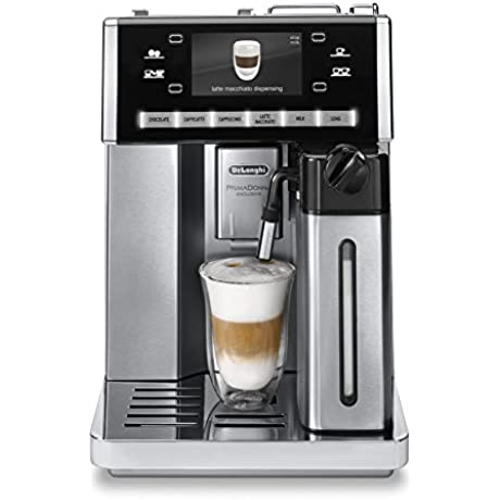 Delonghi ESAM6900 Prima Donna Exclusive Fully Automatic Espresso Maker With Lattecrema System Stainless Steel