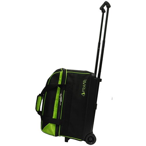 Pyramid Prime Double Roller Bowling Bag (Lime Green)