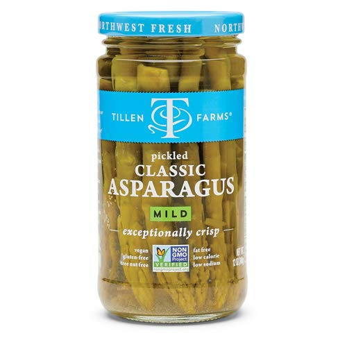 Tillen Farms - Crispy Pickled Asparagus - 26.5 oz (Pack of 6)