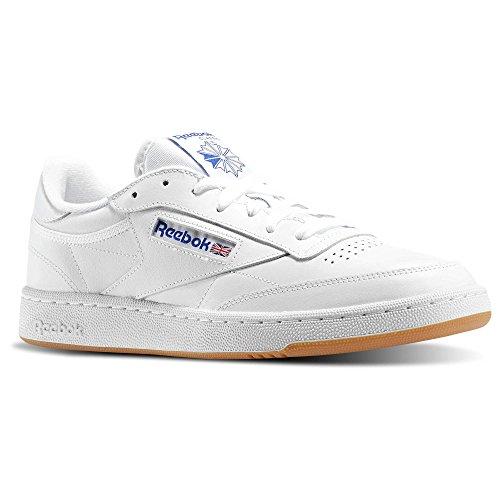 Reebok Club C 85, Zapatillas de Deporte para Hombre White