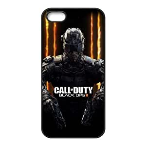 iPhone 5, 5S Phone Case Black Call Of Duty Ghosts SF8622754