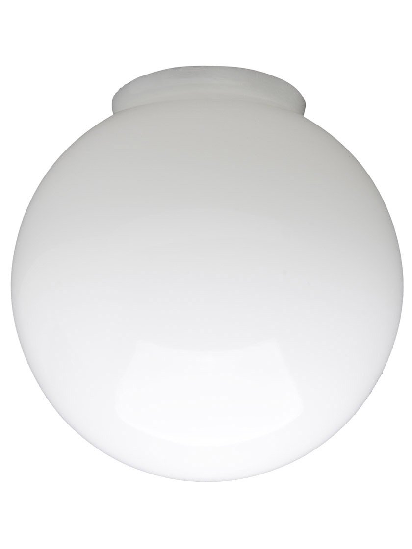 6'' Diameter Opal Glass Ball Shade With 3 1/4'' Fitter