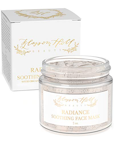 ORGANIC Clay Face Mask – Natural Anti Aging Facial Treatment for Dry, Oily, or Normal Skin – Clean Beauty Skin Care for…