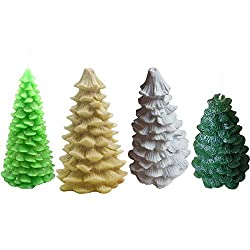 Candle Molds - 2019 Diy 3d Christmas Tree Decorati