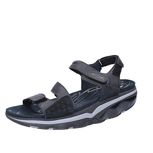 MBT Mujer zapatos con correa Negro