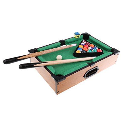 perfk プールボール キューボール スティック デスクトップ ミニチュア プールテーブル 軽量の商品画像