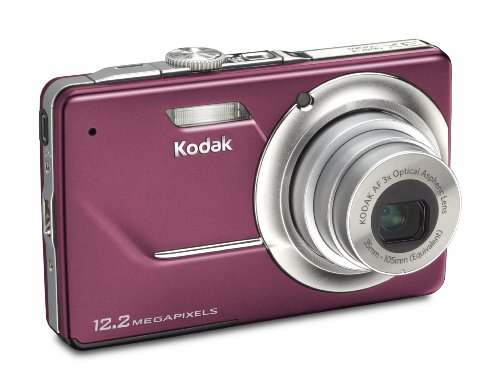 Kodak Easyshare M341 Digital Camera (Orchid)