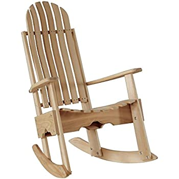 Amazon Com Cypress Rocking Chair Rocker Contoured Seat