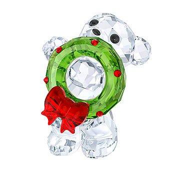 (Swarovski Kris Bear - Christmas 2017 A.E. Figurine )