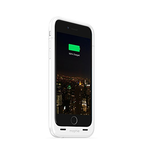 Mophie Juice Pack Plus Rechargeable external Battery Case (3,300mAh) für Apple iPhone 6 weiß