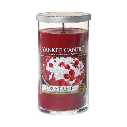 YANKEE CANDLE Pillar Candela Media, Berry Trifle 1342532E