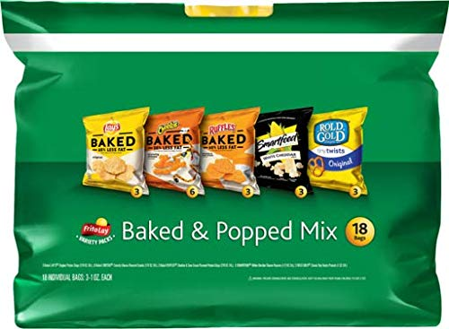 No Bake Halloween Snacks (Frito-Lay 18 Piece VP Baked & Popped Mix, 15)