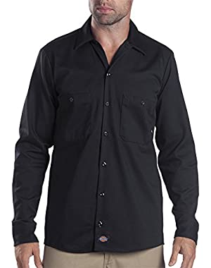 Drop Ship 6 oz. Industrial Long-Sleeve Cotton Work Shirt