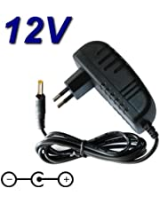 TOP CHARGEUR ® Adaptateur Secteur Alimentation Chargeur 12V pour Lecteur DVD Portable Takara VRT199
