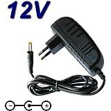 Adaptateur Secteur Alimentation Chargeur 12V pour Lecteur DVD Portable Takara DIV 107R