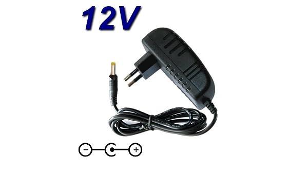 Cargador de 12 V para Reproductor de DVD portátil Nevir NVR-2772 ...