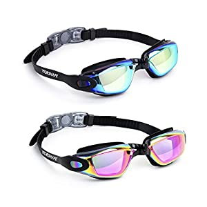 Well-Being-Matters 41HoqzuoEvL._SS300_ Vorshape Swim Goggles Pack of 2 Swimming Goggle No Leaking