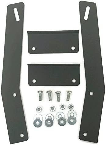 "2pc 4/"" LED Light Bar Pods Mount Bracket Kits for Jeep Cherokee XJ MJ 1984-2001"