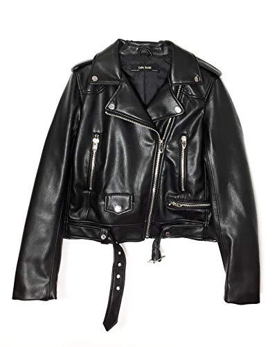 Zara Femme Veste de Motard en Cuir synthtique 3046/024