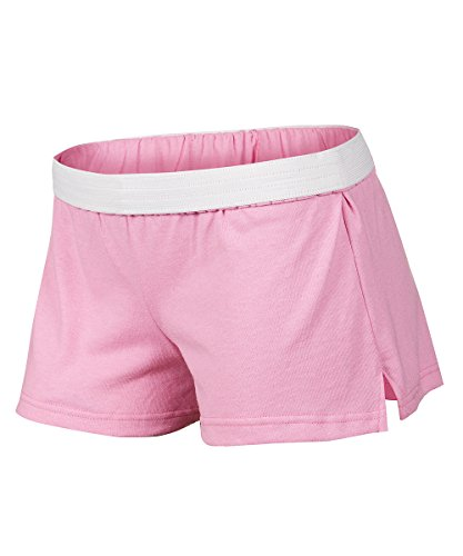 Soffe Juniors New Low Rise Short, Washed Pink, Small ()