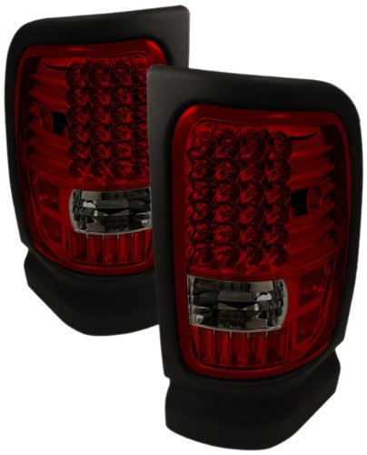 Spyder Auto ALT-ON-DRAM94-LED-RS Dodge RAM 1500/2500/3500 Red/Smoke LED Tail (3500 Smoke Led)