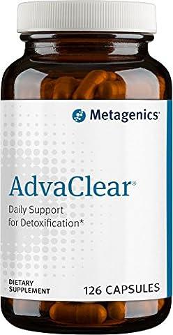 Metagenics Advaclear Capsules, 126 Count (Metagenics Ultra Clear Renew)