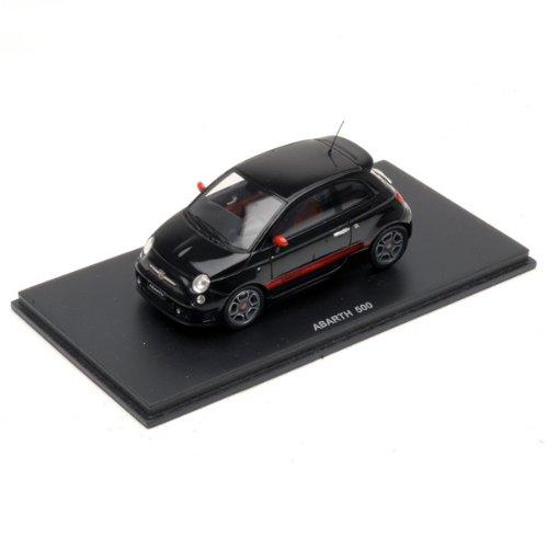 1/43 フィアット500アバルト 2008 ブラック S1316